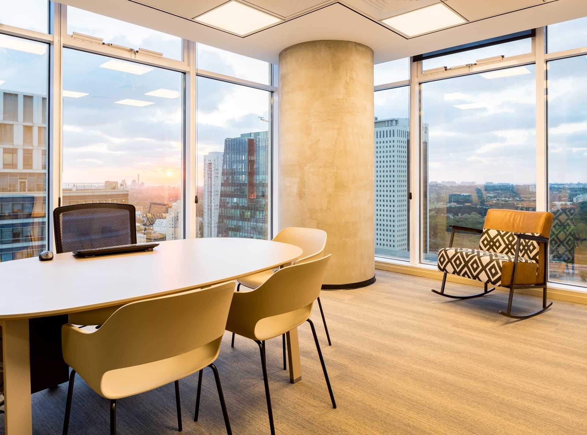 תכנון ועיצוב משרדים וסביבות עבודה