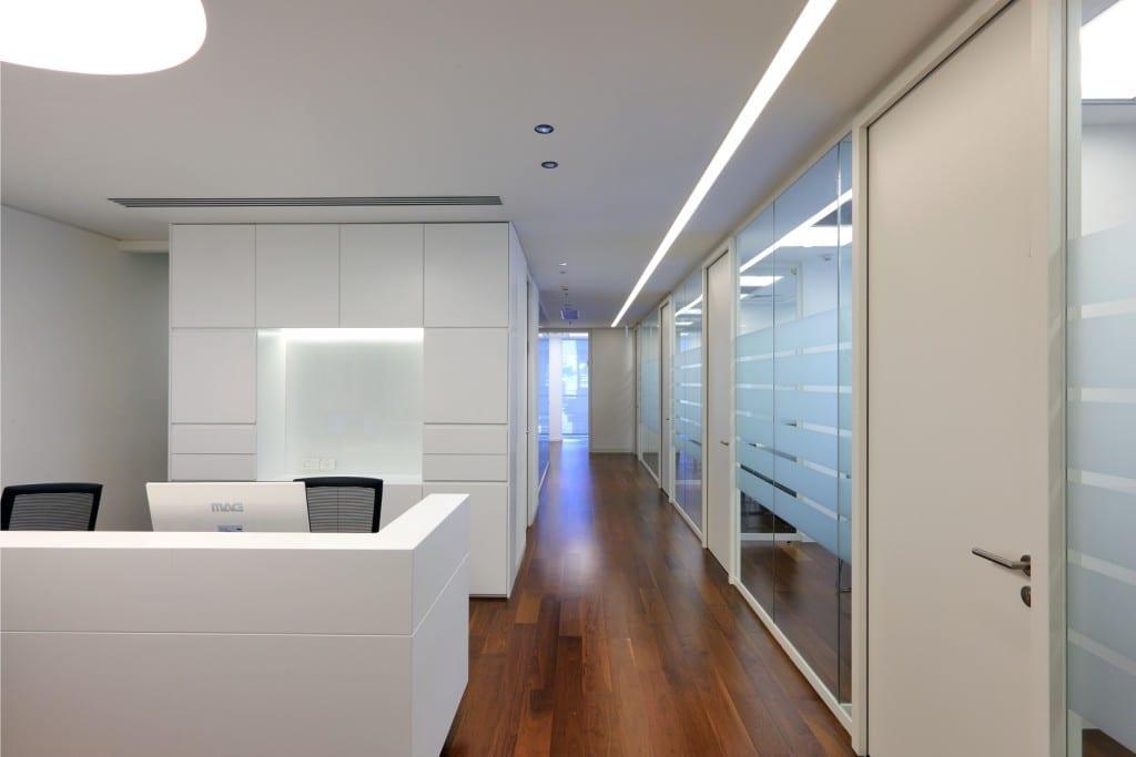 תכנון ועיצוב משרד עו