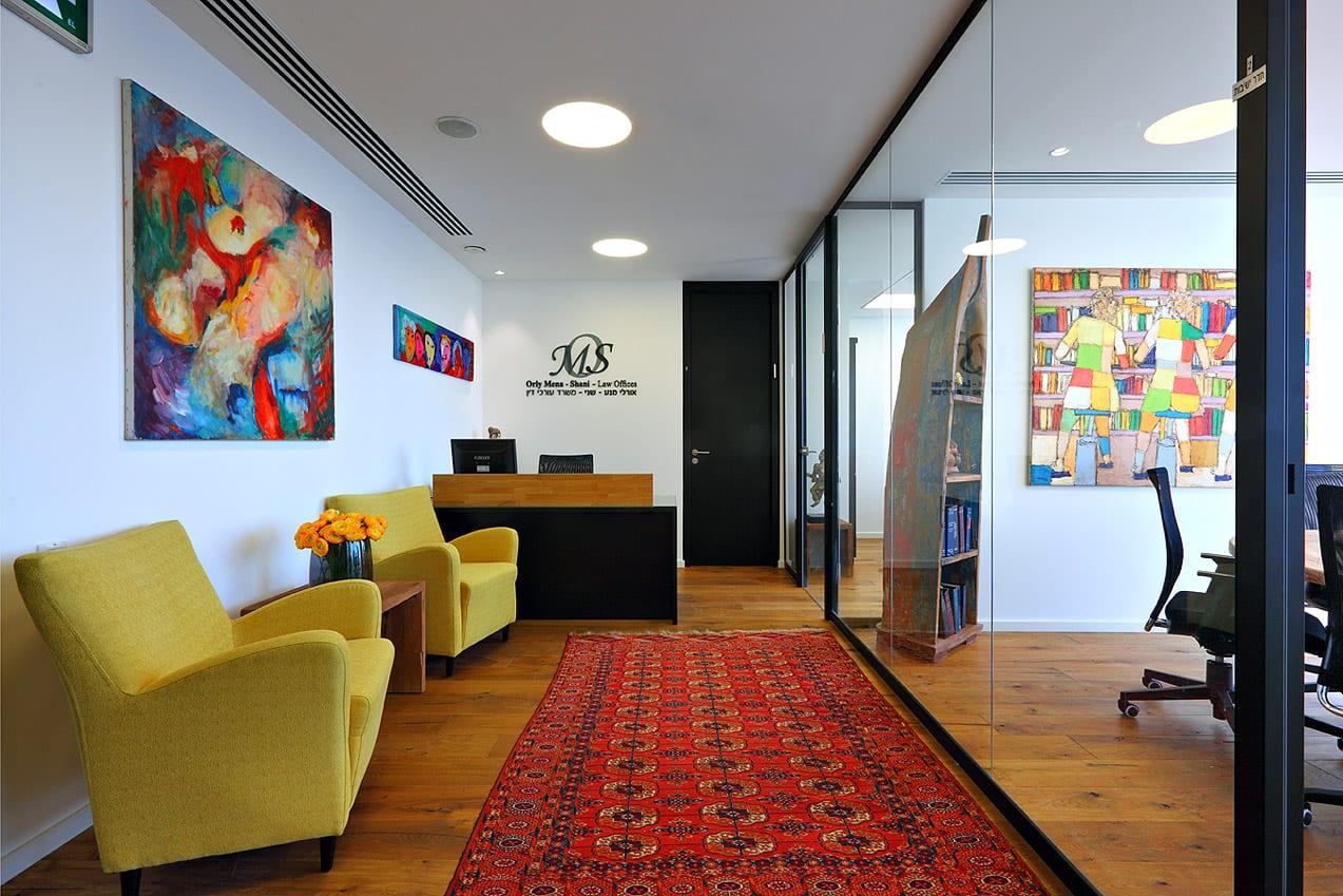 עיצוב חדרי עורכי דין