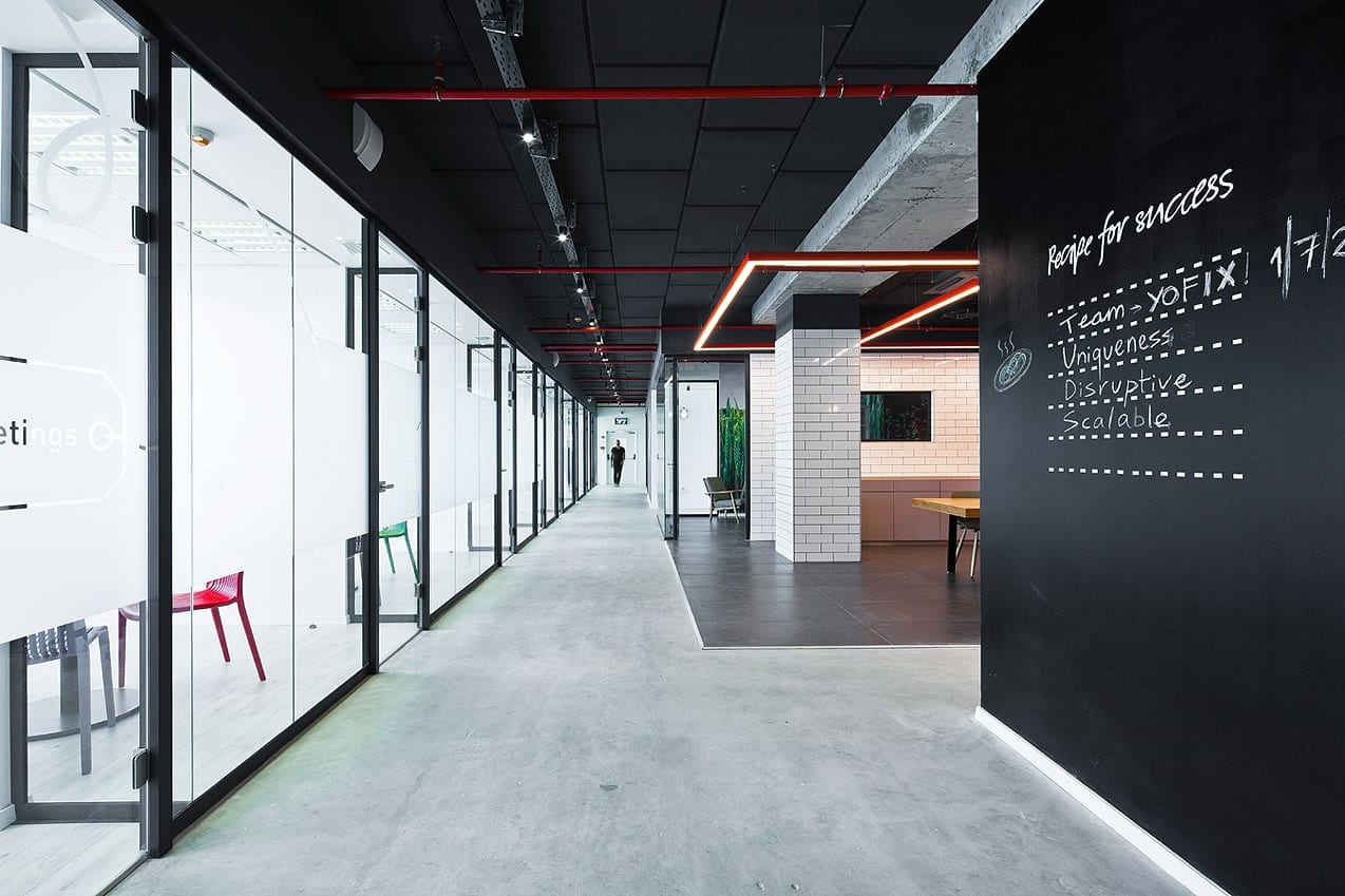 Office Design - FoodTech Hub