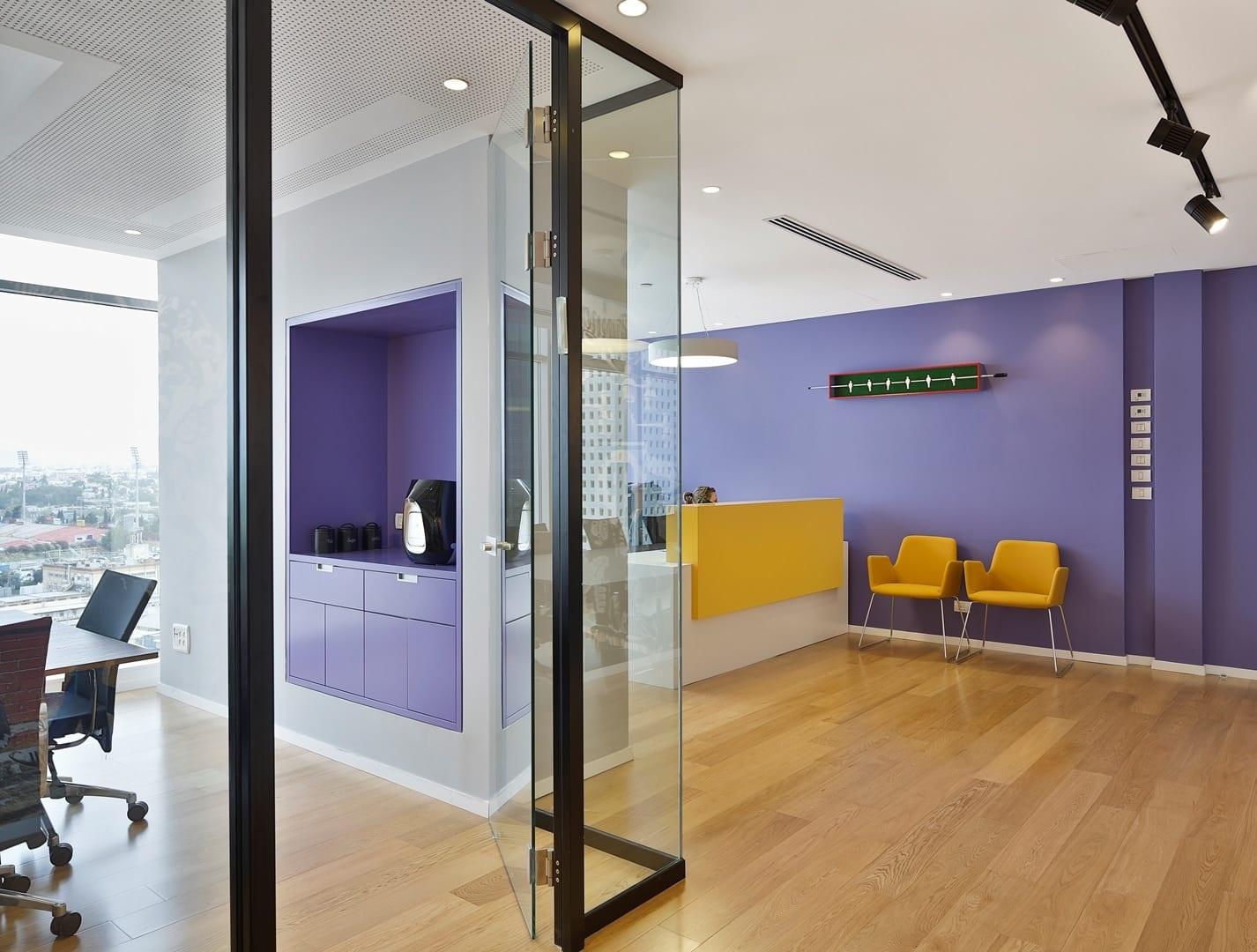 עיצוב משרד עורך דין שובל-יושע - חגי נגר אדריכלים