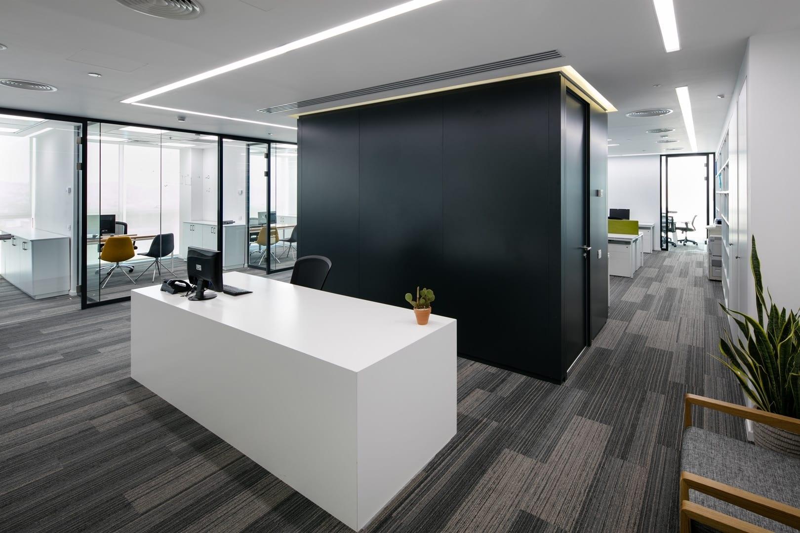 עיצוב משרדים במגדל השחם