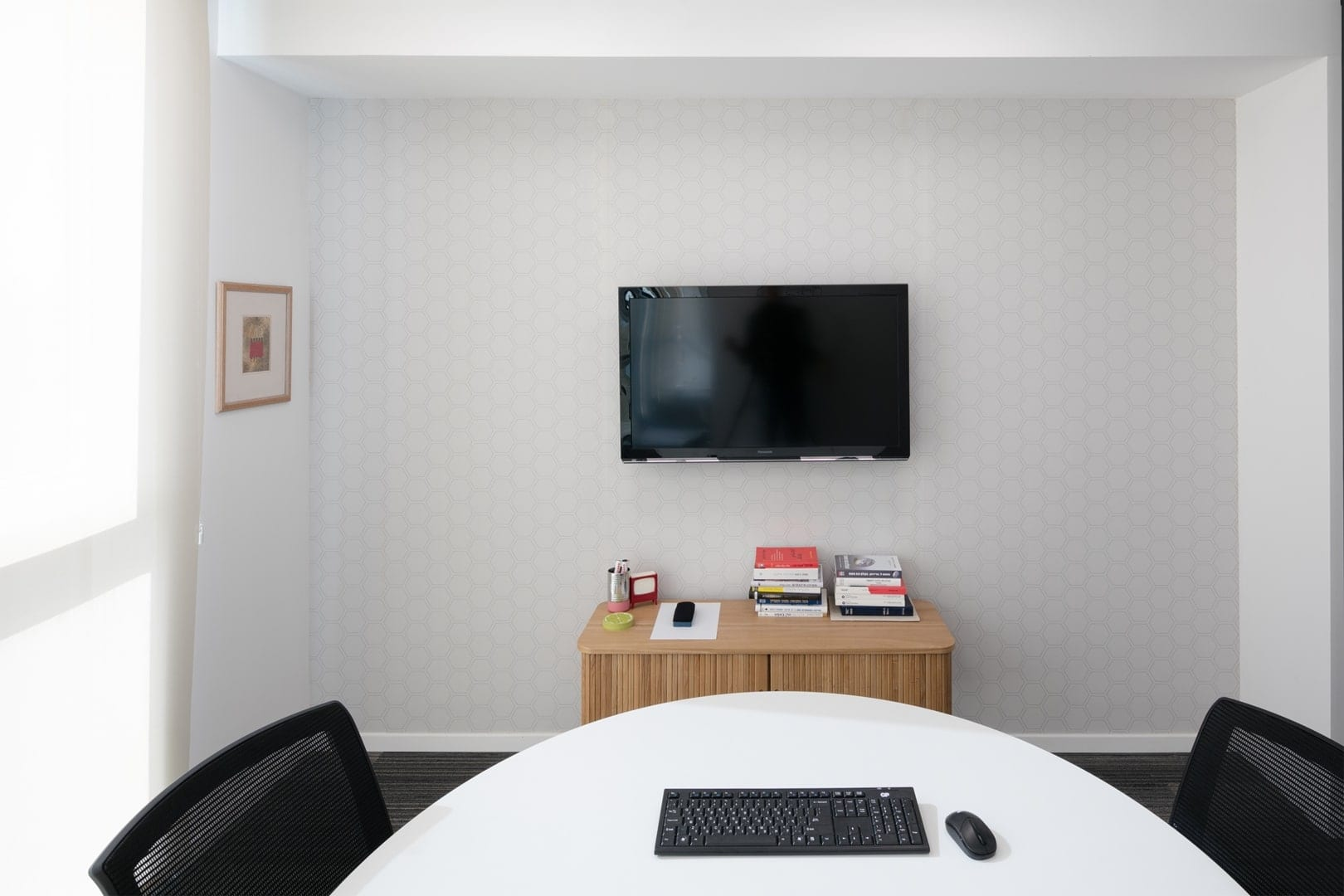 עיצוב חדר ישיבות עורכי דין