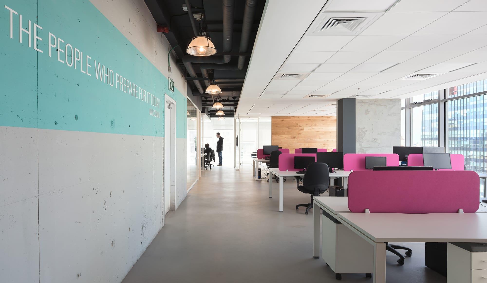 תכנון ועיצוב משרד