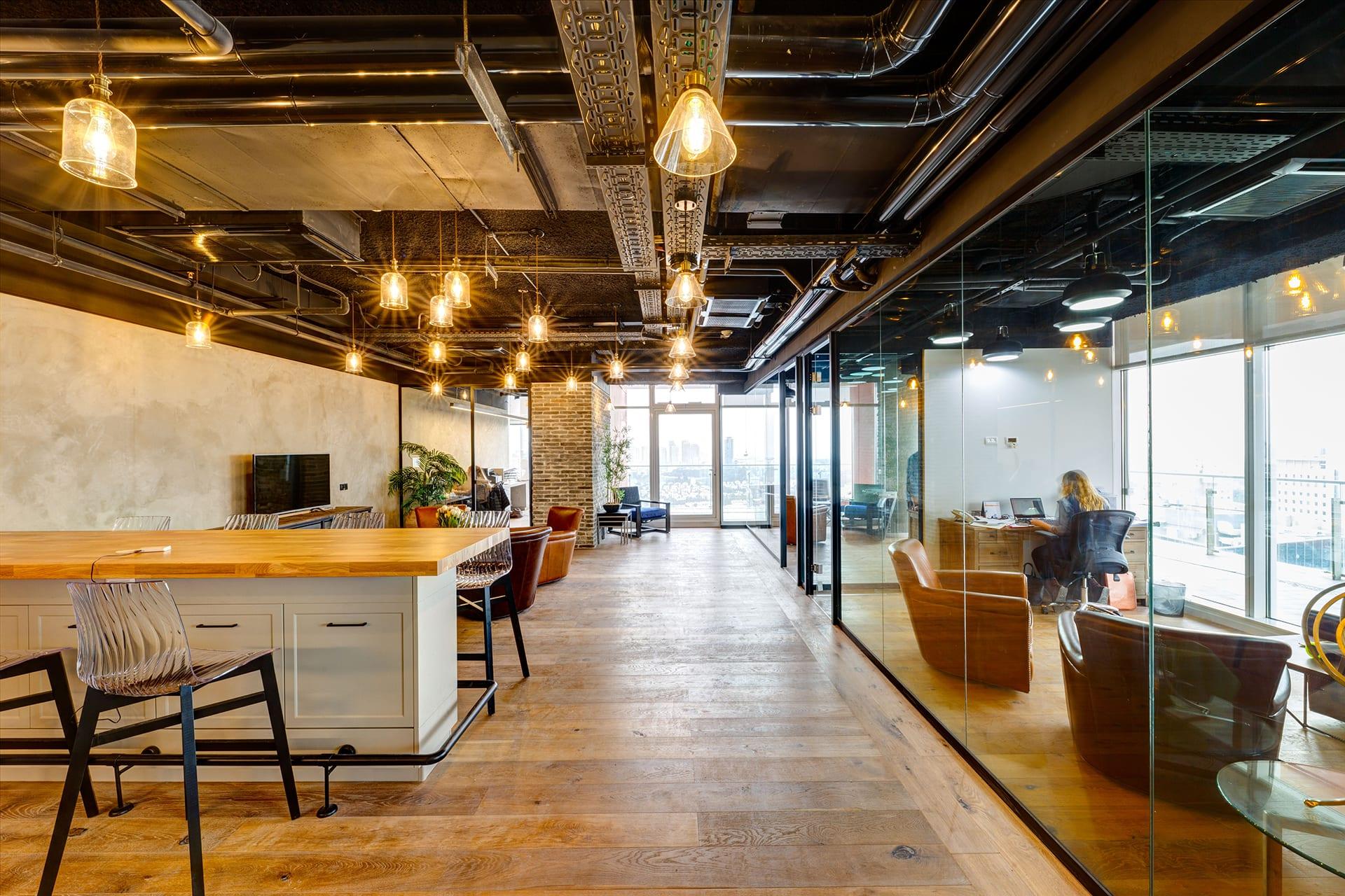 עיצוב משרדים | תכנון סביבת עבודה | תכנון ועיצוב משרדי הייטק